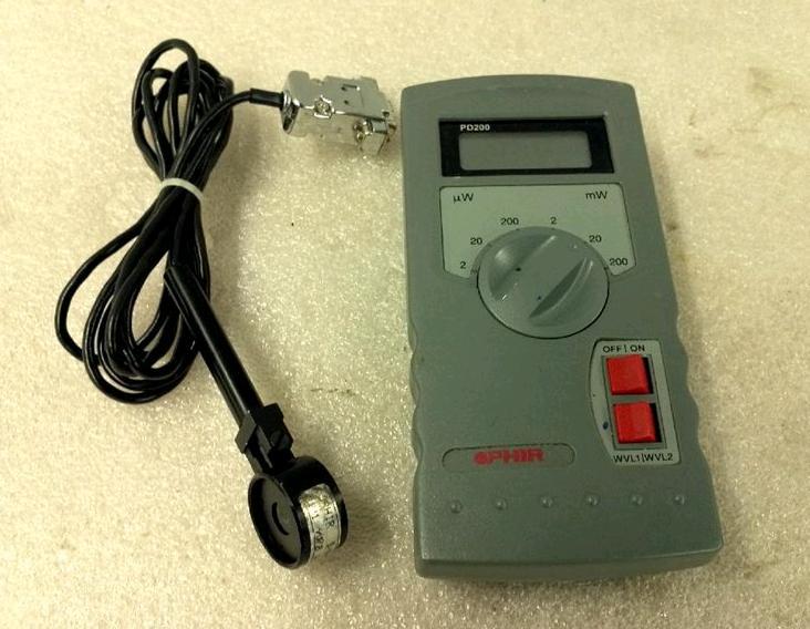 Laser Power Meter : Laser power testing